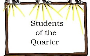 Student of the Quarter WINNERS!! - article thumnail image